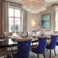 Lovely Small Formal Dining Room Design Ideas Light