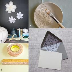 Lovely Things Diy Roundup Lace Doilies