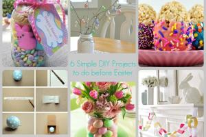 Loving Crazy Life Last Minute Easter Diy Projects