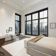 Luxurious Nyc Duplex Penthouse Offers Dramatic Skyline Views