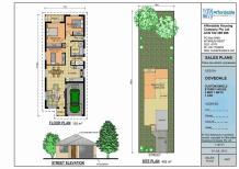 Luxury Home Plans Narrow Lots