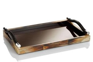 Luxury Leather Tray Trays
