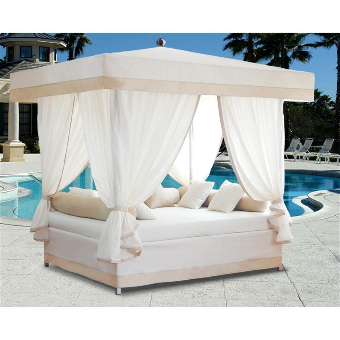 36 exquisite outdoor beds that look