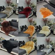 Luxury Soft Faux Sheepskin Natural Long Wool Fur Rug