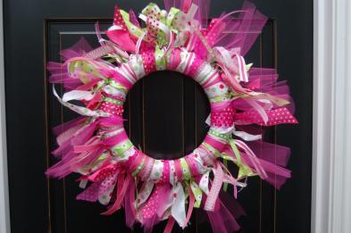 Maddyson Lane Ribbon Wreath Diy