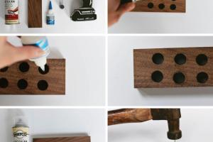 Magnetic Knife Rack Diy Tutorial Home Decorating Trends