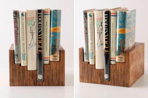 Make Anthro Inspired Bookcase Diy Crafts