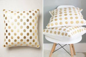 Make Anthropologie Inspired Pillows Half