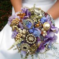 Make Brooch Bridal Bouquet Tos Diy
