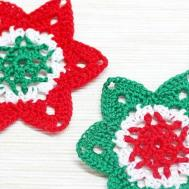Make Crocheted Christmas Star Ornament Diy
