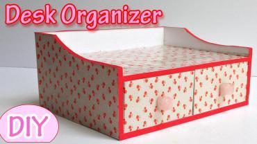 Make Desk Organizer Ana Diy Crafts
