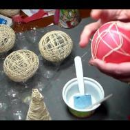 Make Diy Christmas Ornaments String