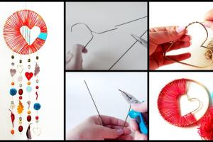 Make Dream Catcher Art Craft Ideas