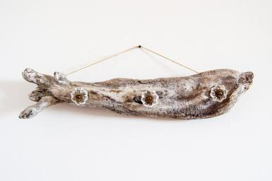 Make Driftwood Jewelry Hanger Diycandy