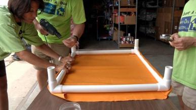 Make Elevated Dog Bed