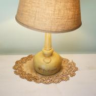 Make Gorgeous French Typography Lamp