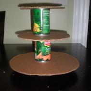 Make Grand Diy Cupcake Tower Stand