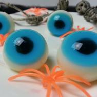 Make Gummy Jello Eyeballs