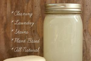 Make Liquid Castile Soap