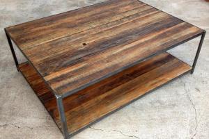 Make Pallet Desk Fringe Focus Reclaimed Wood