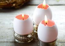 Make Pretty Easter Egg Candles Chatelaine