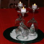 Make Simple Holiday Tree Christmas Centerpiece
