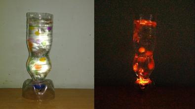Make Simple Table Bubble Lamp
