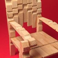 Make Stylish Mini Clothespins Chair Diy Crafts
