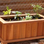 Make Wooden Planter Boxes Waterproof Wilson Rose