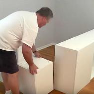 Man Transforms Cabinets Into Super Cool