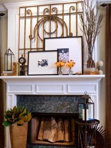 Mantel Bookshelf Decorating Tips Living Room
