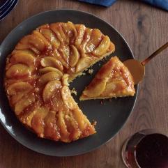 Maple Apple Upside Down Cake Recipe Joanne Chang Food