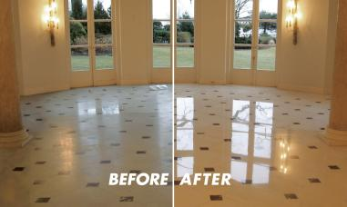 Marble Travertine Floor Polishing Service Lake Forest