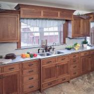 Maximizing Cabinet Color Create Retro Style Kitchen