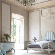 Mediterranean Furniture Design Cream Wicker Lounge Chair