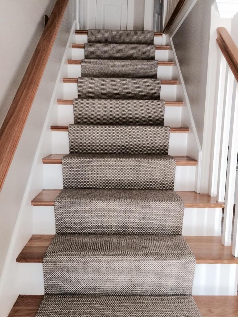 Merida Flat Woven Wool Stair Runner Carpet Workroom