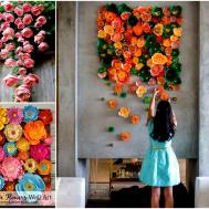 Mesmerizing Diy Handmade Paper Flower Art Projects