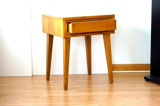 Mid Century Modern Bedside Table Nitestand Fallowhorn