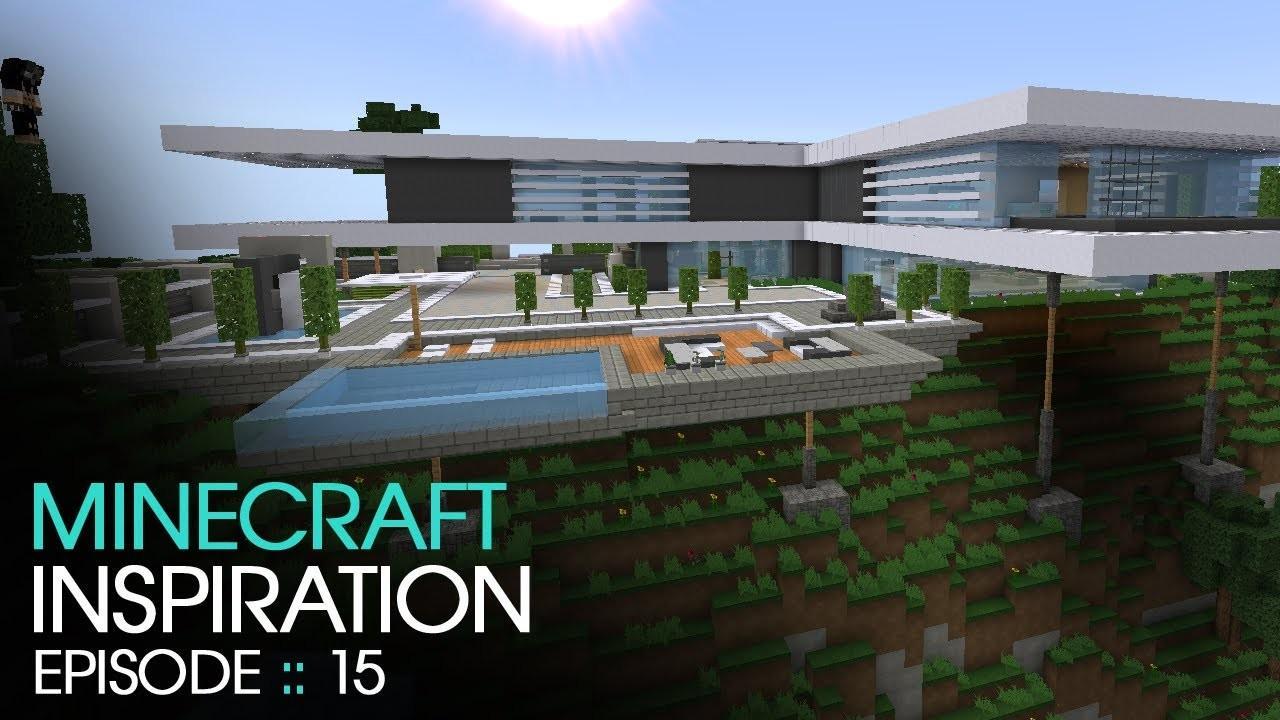 Minecraft Modern Mountain House Inspiration Decoratorist 119234