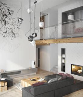 Minimalist Apartment Decorating Ideas Gray Color