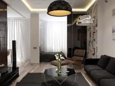 Minimalist Apartment Interior Design Gray Color