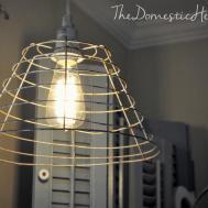 Minute Diy Vintage Industrial Pendant Light