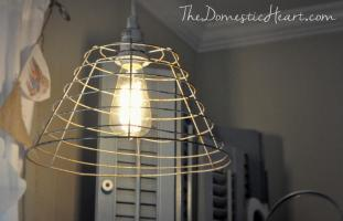 Minute Diy Vintage Industrial Pendant Light