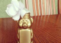 Miss Allie Jane Diy Honey Bear Vase Paper Rose