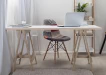 Mocka Trestle Desk Home Office Furniture
