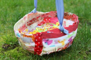 Mod Podge Fabric Easter Basket