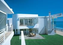 Modern Beach House Inside Backyard Iroonie