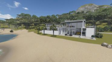 Modern Beach Villa Lumion