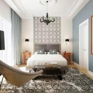 Modern Bedroom Design Trends Accent Wall Can