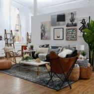 Modern Boho Interior Design Registry Green